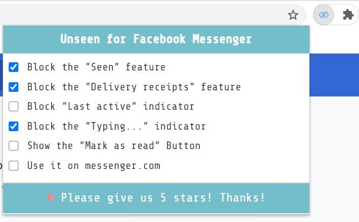 """Cách đọc tin nhắn Messenge của Facebookr mà không hiện """"Đã xem"""""""